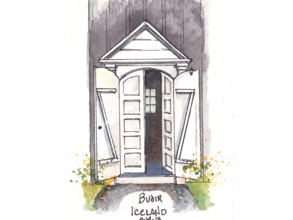 Custom painting of your church entryway