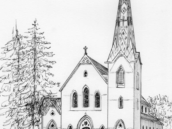 St. Paul's Church portrait